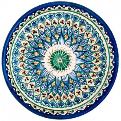 тарелка для плова узбекская риштанский