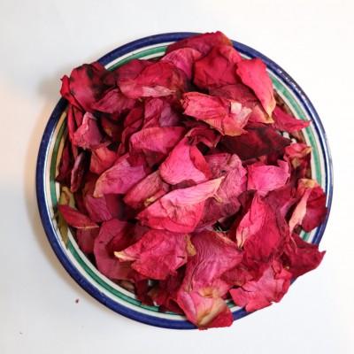 Роза сушёная (лепестки)