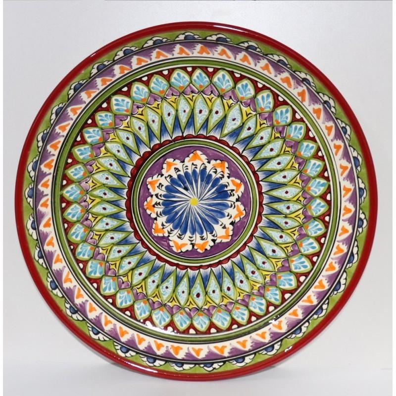 Ляган  Мехроб цветной 32 см