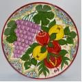 Ляган с рисунком фруктов 38 см